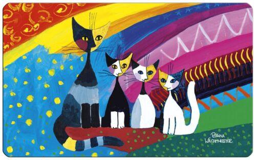 Frühstückbrettchen Under The Rainbow Schneidebrett Rosina Wachtmeister Katzen
