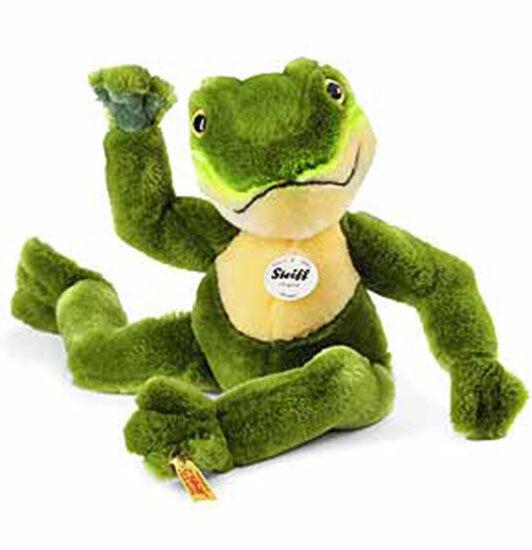 Froggy Dangling Frog by Steiff - EAN 064586