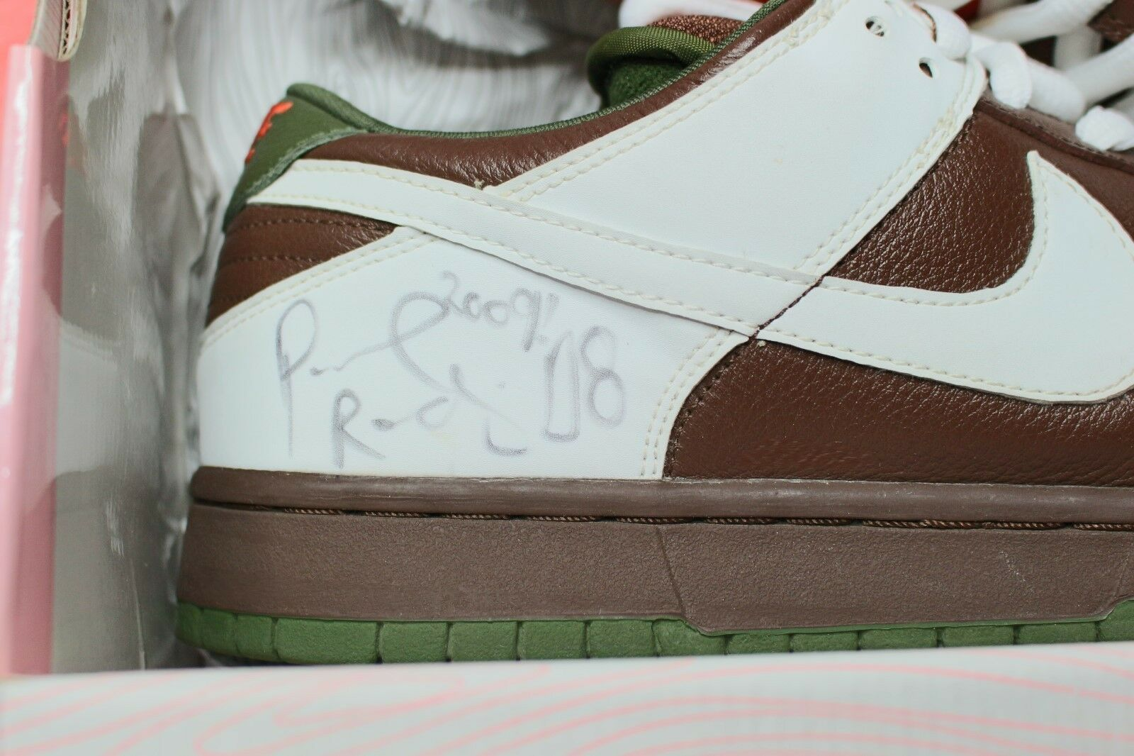 Nike SB Dunk Low Signed by Paul Rodriguez P Rod