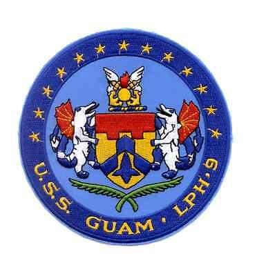 LPH-9 USS GUAM IWO JIMA-CLASS AMPHIBIOUS ASSAULT SHIP MILITARY PATCH