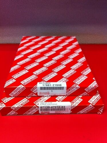 2004-2009 Toyota Prius Air//Cabin Filter combo kit Genuine Toyota Parts