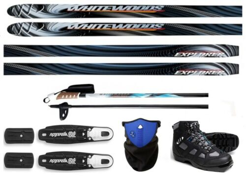 190cm NEW EXPLORER XC cross country NNN SKIS//BINDINGS//BOOTS//POLES PACKAGE