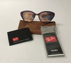 fd78370067 Image is loading New-Ray-Ban-Sunglasses-RB4250-60342Y-Violet-Copper-