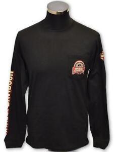 Genuine-Harley-Davidson-Men-039-s-Speedometer-Long-Sleeve-T-Shirt