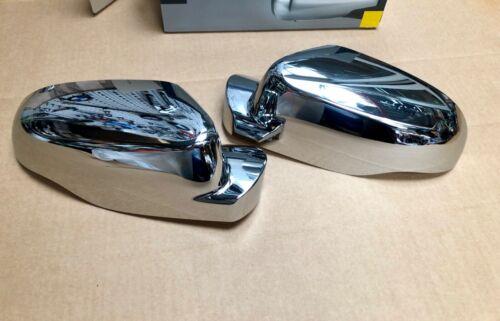 RENAULT CLIO 3 III /& TWINGO 2 II 2x coquille rétroviseur chromée droit+gauche