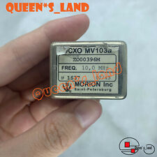 1 Morion Mv103 Mv103a 10mhz 12v Sine Wave Ocxo Crystal Oscillator