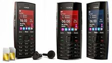 2017 ORIGINAL Nokia X2-00 Red Black X2 100% UNLOCKED Cellular Phone GSM Warranty