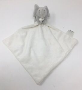 Little-White-Company-Kimbo-Small-Grey-Elephant-Comforter-Blankie-Baby-Soft-Toy