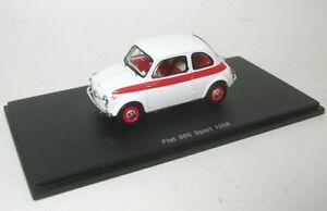 FIAT-500-SPORT-bianco-Rosso-1958
