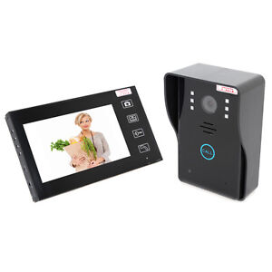 7-034-Video-Wireless-Intercom-Doorbell-DoorPhone-Home-Security-Camera-System-R2
