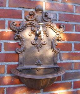 Brunnen wandbrunnen klassik antik gr nderzeit stil gusseisen gartendeko neu ebay - Gartendeko gusseisen ...