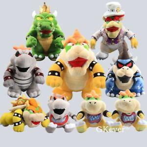 Super Mario Bros.Peluche Bowser Koopa Peluche Animal en Nounours Poupée S