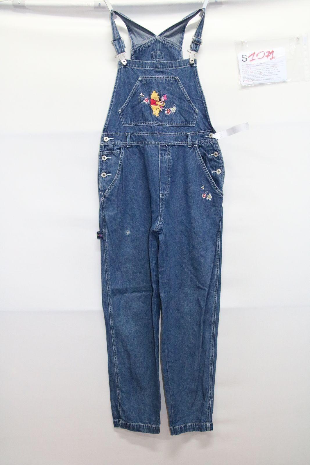 Dungarees Pooh ( Cod. S1071) TG M Jeans Used Vintage Streetwear Womens