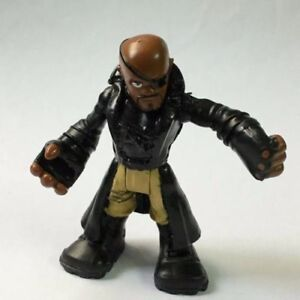 rare-Playskool-Heroes-Nick-Fury-Marvel-Super-Hero-Adventures-2-5-034-figure-Boy-Toy