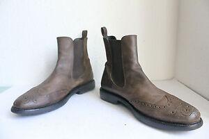 Echtleder Braun Style Boots Budapester 46 Elegante Eu Chelsea Samsonite BqAXTX