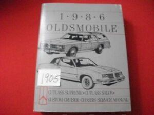 1986-OLDSMOBILE-CHASSIS-SERVICE-MANUAL-CUTLASS-SUPREME-SALON-CUSTOM-CRUISER