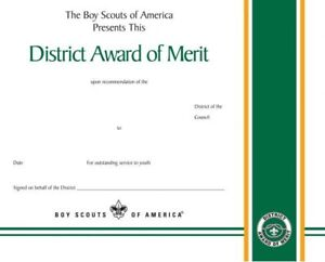 BOY-SCOUT-OFFICIAL-BSA-ADULT-LEADER-DISTRICT-AWARD-OF-MERIT-CERTIFICATE-8-5x10-034