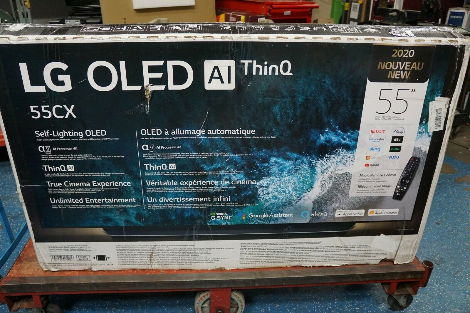 LG OLED55CXPUA Class OLED 4K UHD CX Series Smart TV --- //LOCAL PICKUP!// **. Buy it now for 1549.99