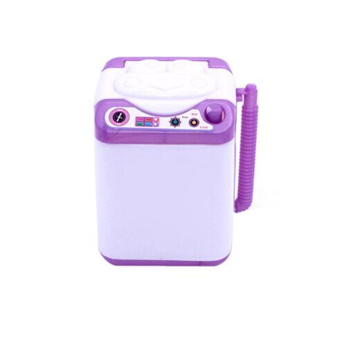 Silikon Mini Waschmaschine Spielzeug Puppenhaus Möbel Geschenk für Barbie Supe