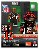 Giovani Bernard Oyo Cincinnati Bengals Nfl Football Figure G2