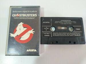 Ghostbusters-Cazafantasmas-Soundtrack-1984-Cinta-Cassette