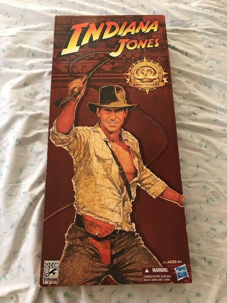 Hasbro Indiana Jones Raiders 30th Anniversary Lost Wave 2011 SDCC Exclusive Set