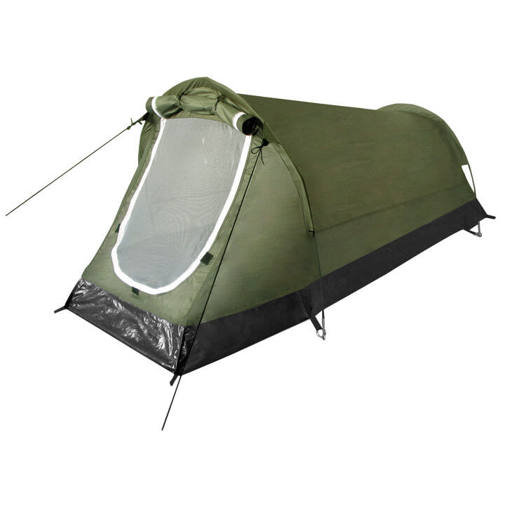 Tunnel Tent Hochstein Camping Festivals Outdoor Hiking  Bushcraft 2 Persons Olive  all in high quality and low price