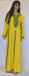 Egyptian-Cotton-Embroidery-Arabesque-Dress-Long-Abaya-Jilbab-Tatreez
