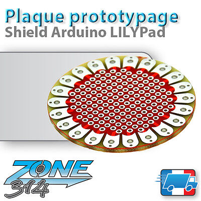 Plaque de prototypage Arduino Shield LilyPad (prototype board PCB)