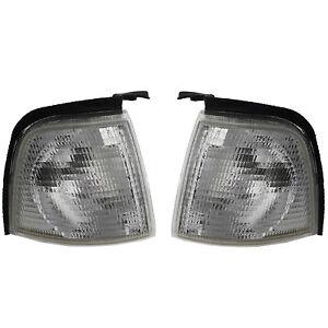 Audi 80 B3 B4 Blinkleuchte Blinker SET Links Rechts Frontblinker weiß Avant