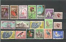 R371 - SUDAFRICA 1958 - LOTTO USATI DIFFERENTI   N° 221/280 - VEDI FOTO