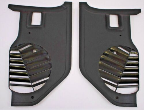 1969 1970 FORD MUSTANG BLACK KICK PANELS FITS ALL BODY STYLES #C9ZZ-6502344 NEW