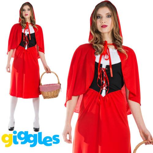 Débardeur Little Red Riding Hood Costume World Book Jour Semaine histoire Fancy Dress New