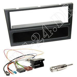 Sebring CHRYSLER 300 C Auto Radio Blende Einbau Rahmen Doppel-DIN JS LX