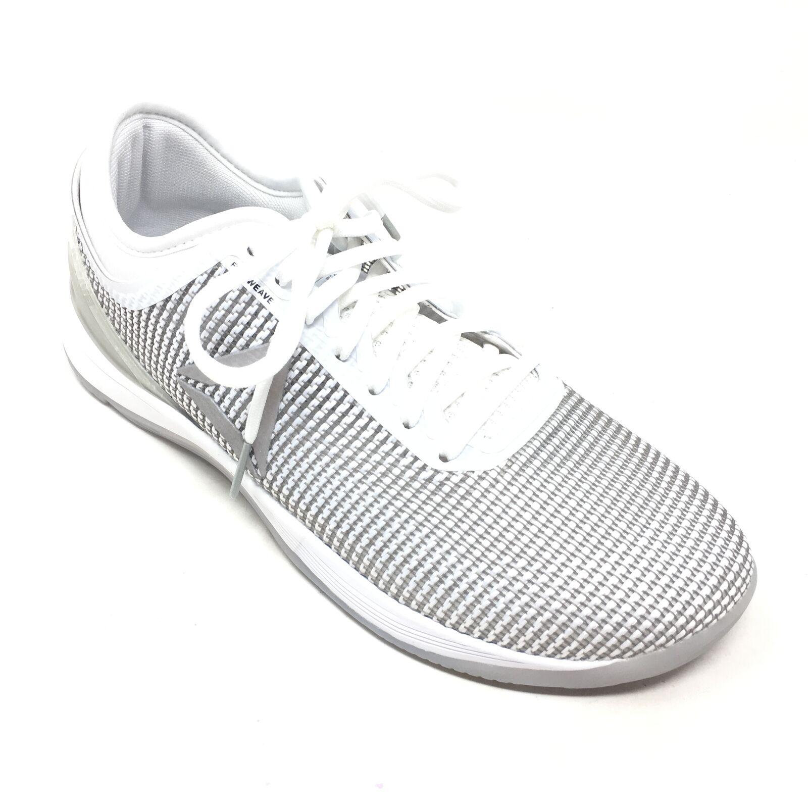Hombre Nuevo Reebok CrossFit Nano 8 flexweave Zapatos Tenis Tamaño 8.5M gris blancoo T3