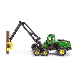 Siku-1652-John-Deere-Harvester-1470E-Modellauto-Blister-NEU