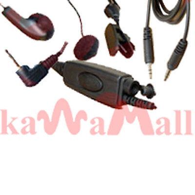 Earbud Ear Mic+MP3 Plugin for Motorola XTN GP300 CP200