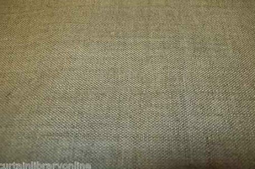 Irish Linen Plain Natural Curtain Material Fabric Roll £12.98 Per Metre