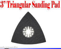3 Oscillating Multi Tool Sanding Pad Milwaukee Dremel Genesis Ryobi Sand Pad