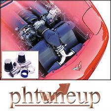 Blue Dualtwin Air Intake 1997 2000 Chevy Corvette C5 57 57l Engine Fits Corvette