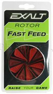 Exalt Rotor Fastfeed Red Black 3 color Paintball Speed Feed Hopper Loader NEW