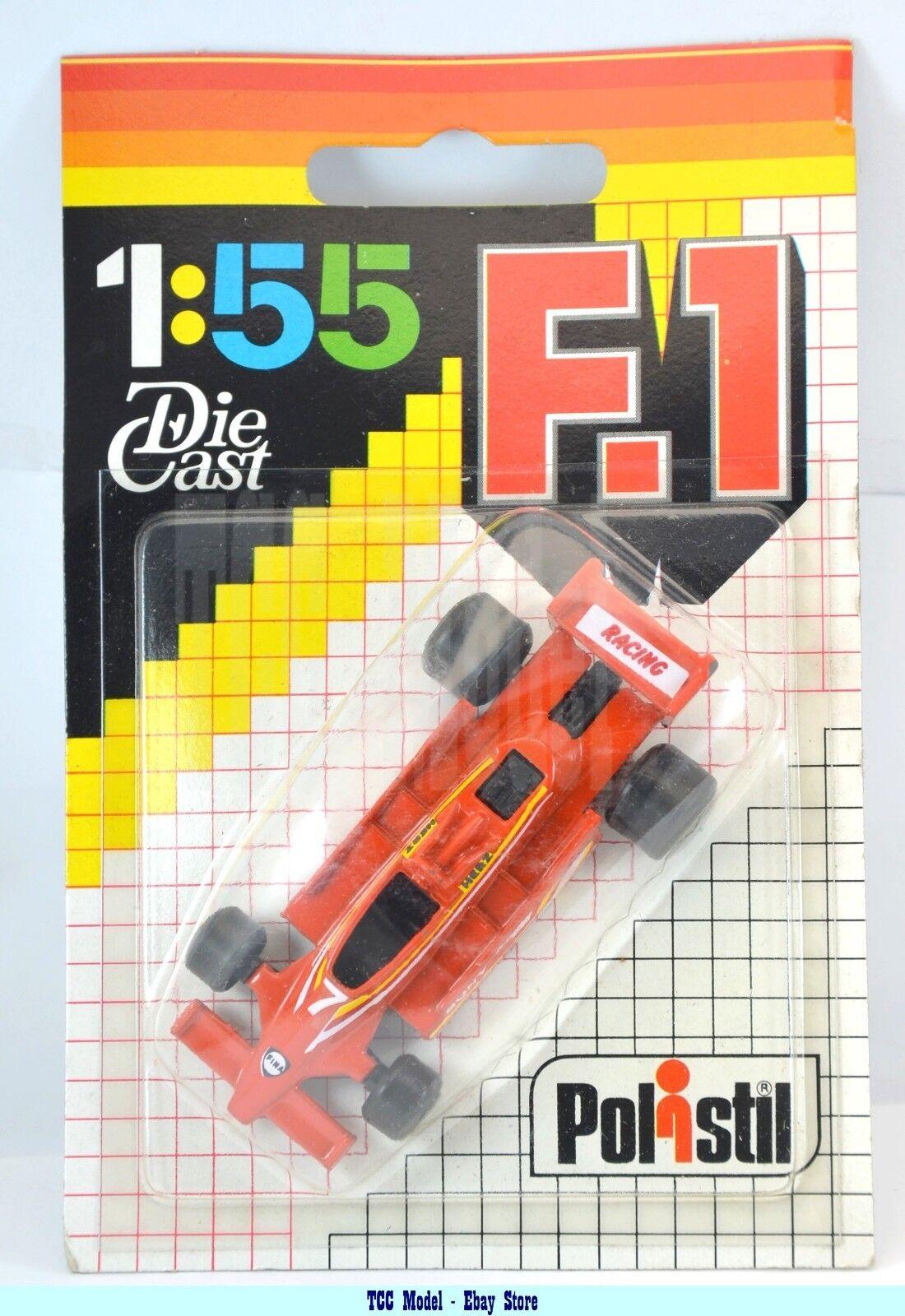 Polistil m0855 f1  1 55 - Tyrrell Racing  7 Orange - In Blister-RARE  votre satisfaction est notre cible