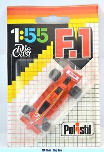 M0855 Polistil F1 1:55 - Tyrrell Racing # 7 Colore Arancio dans Blister- Rara