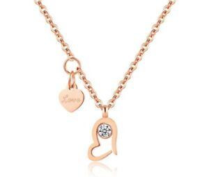 18-Karat-Goldkette-Damen-Halskette-mit-Anhaenger-vergoldet-Herz-Geschenk-Idee-38