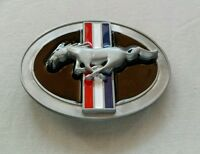 Ford Mustang Racing Tri Color Bar Belt Buckle Official Licensed Product Siskiyou