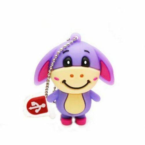 Pen Drive 4GB 8GB 16GB 32GB 64GB Cute Bear Tigger Donkey USB Flash Memory Stick