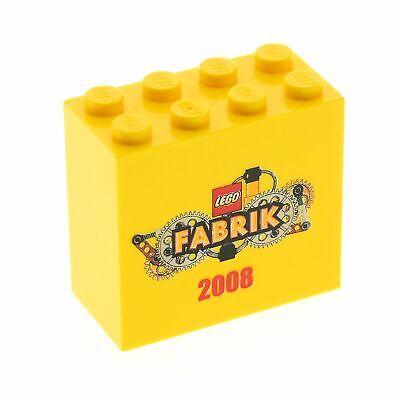 Sonderstein Gelb 2 x 4 x 3 Lego--Fabrik 2009