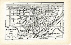 14 Cabourg 1927 photos- plan ville + guide (6 p.) hôtels cinémas casino bains CGrREDV6-08014817-976386866