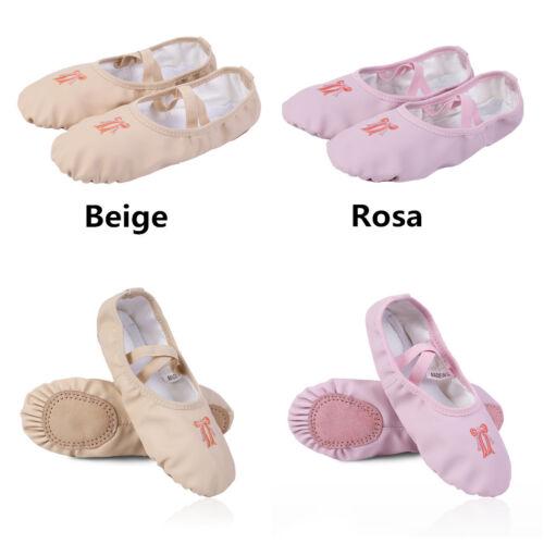 Zapatos de Danza Ballet Gimnasia para Niña Confortables Antideslizantes 26-34