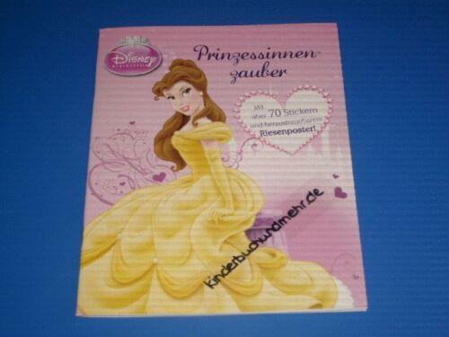 M Disney Princesse Poster-livre avec plus de 70 autocollants
